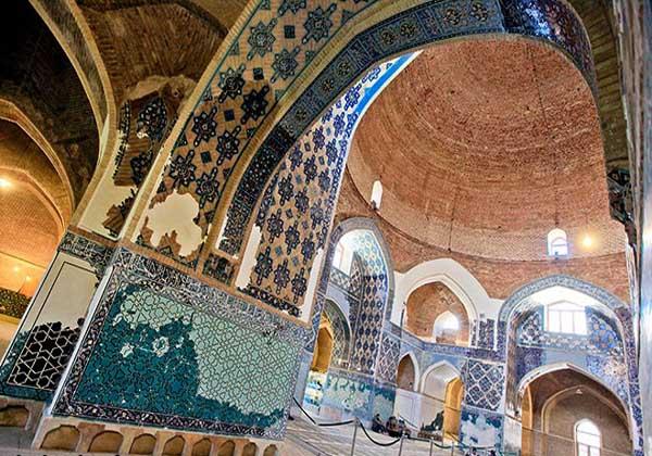 مسجد جهانشاه,مسجد کبود,مسجد مظفریه