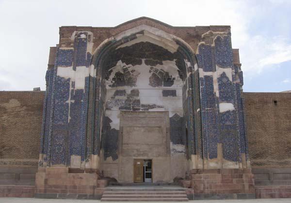 تاریخ مسجد کبود تبریز,تاریخچه مسجد کبود تبریز,عکس مسجد کبود تبریز