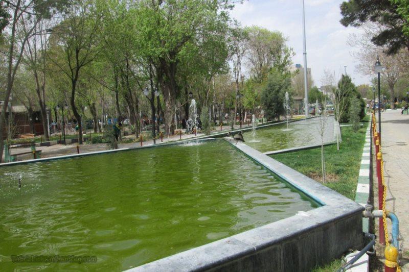 پارک گلستان تبریز,تاریخچه باغ گلستان تبریز,عکس باغ گلستان تبریز