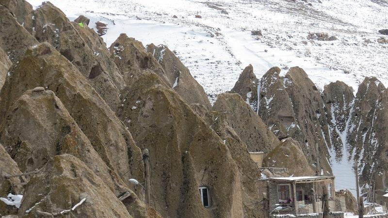 روستای کندوان در تبریز,عکس روستای کندوان تبریز,عکسهای روستای کندوان تبریز