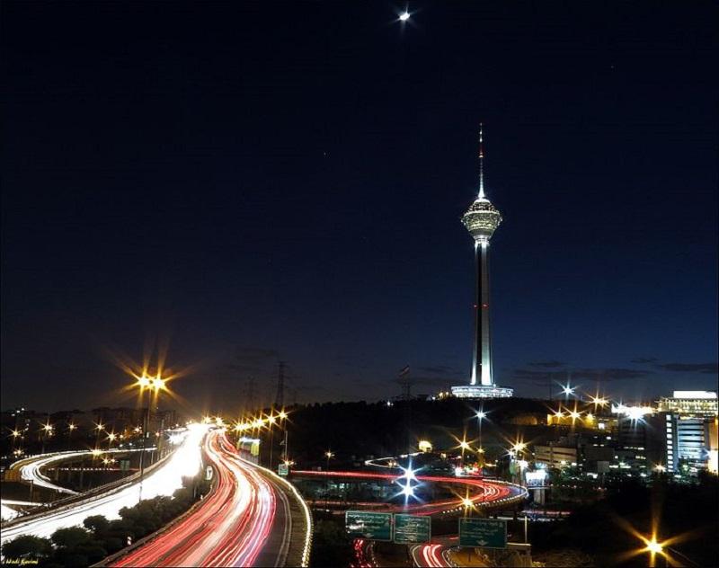 آدرس برج میلاد تهران,برج ميلاد تهران,برج میلاد تهران