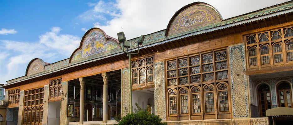 معماری نارنجستان قوام شیراز,نارنجستان قوام,نارنجستان قوام شيراز ايران