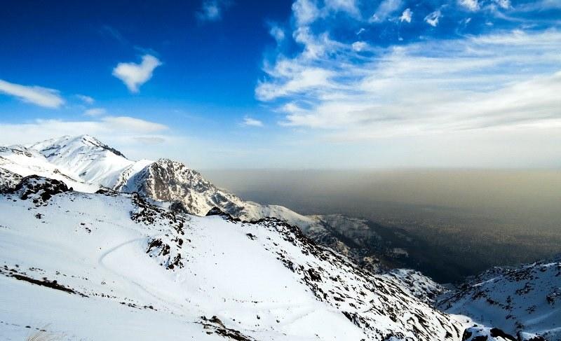 آدرس توچال تهران,ارتفاع کوه توچال,پیست اسکی توچال