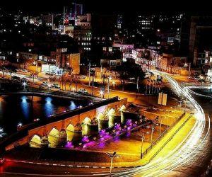 ادرس پل هفت چشمه اردبیل,پل تاریخی هفت چشمه اردبیل,پل هفت چشمه