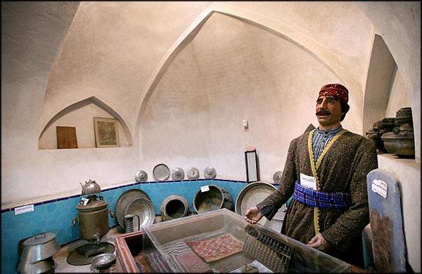 آدرس موزه مردم شناسی اردبیل,تاریخچه موزه مردم شناسی اردبیل,حمام های تاریخی اردبیل