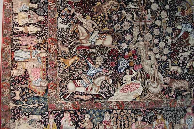 موزه فرش ايران در تهران,موزه فرش ایران,موزه فرش ایران تهران