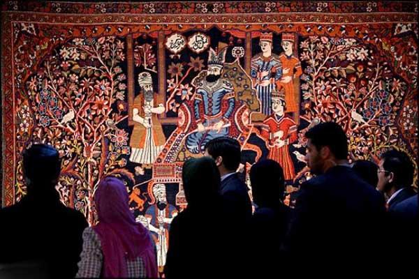 آدرس موزه فرش ایران,پلان موزه فرش ایران,موزه تهران