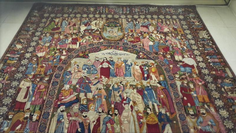 موزه فرش ایران در استان تهران,موزه فرش تهران