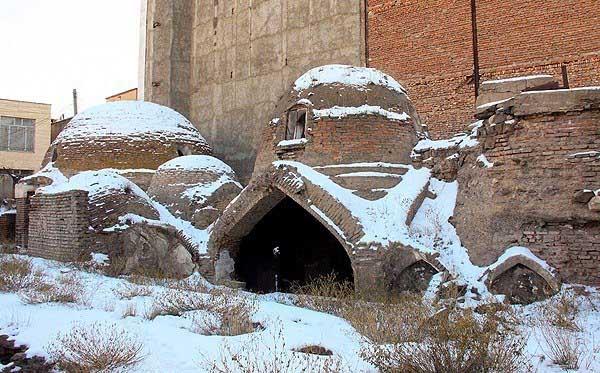 حمام اردبیل,حمام تاریخی اردبیل,حمام تاریخی ملا هادی