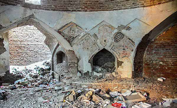 بنای تاریخی,بنای تاریخی اردبیل,تاریخچه حمام ملا هادی اردبیل