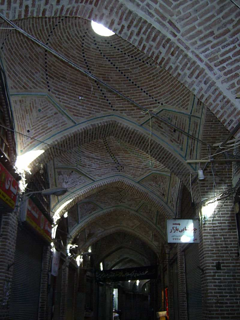 آثار تاریخی اردبیل,آدرس بازار بزرگ اردبیل,بازار اردبیل