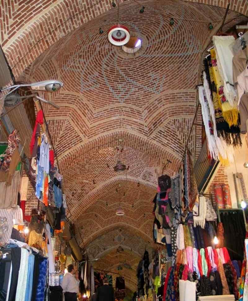 بازار تاریخی اردبیل,بازار زرگران اردبیل,بازار قدیمی اردبیل