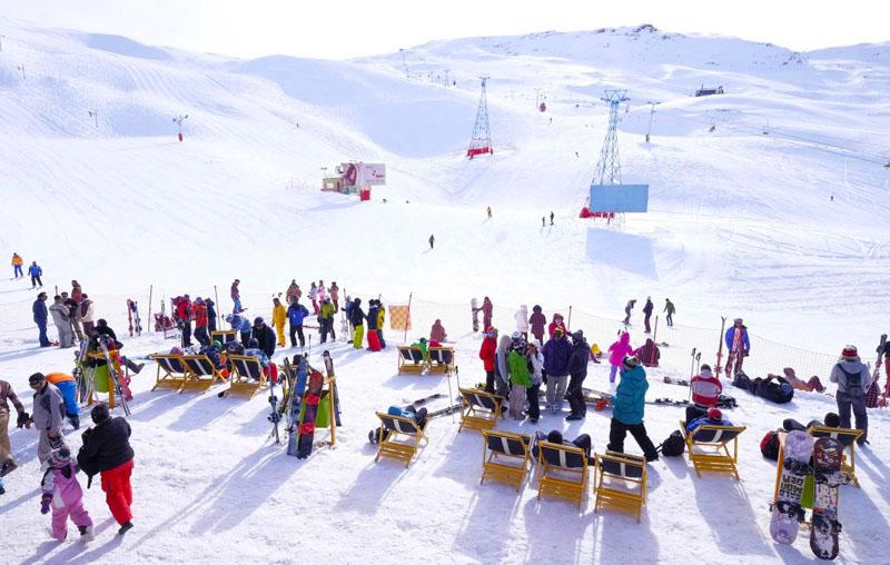 پیست اسکی دیزین تهران,پیست اسکی دیزین کجاست,پیست تهران
