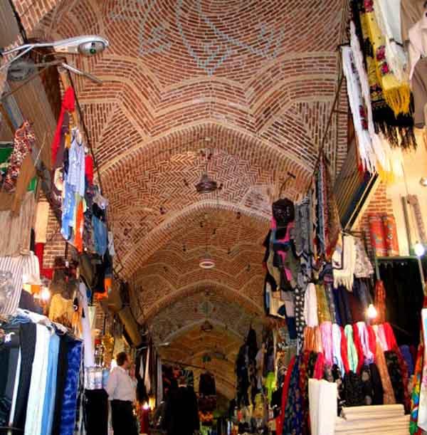 عکس بازار بزرگ اردبیل