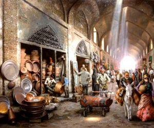 آثار تاریخی اردبیل,بازار اردبیل,بازار تاریخی اردبیل