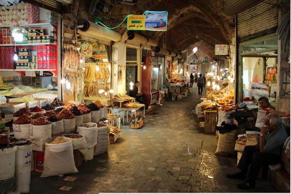 بازار قدیمی اردبیل,تاریخچه بازار اردبیل,راسته بازار اردبیل