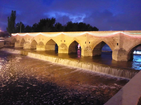 پل یدی گوز اردبیل,تاریخ پل هفت چشمه اردبیل,عکس پل هفت چشمه اردبیل