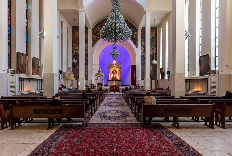 سرکیس مقدس,عکس کلیسای سرکیس تهران,عکس کلیسای سرکیس مقدس تهران