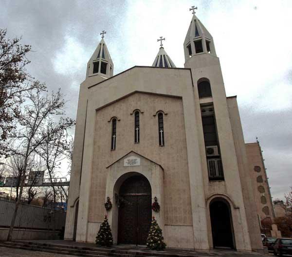 آدرس کلیسای سرکیس مقدس تهران,سرکیس مقدس,عکس کلیسای سرکیس تهران