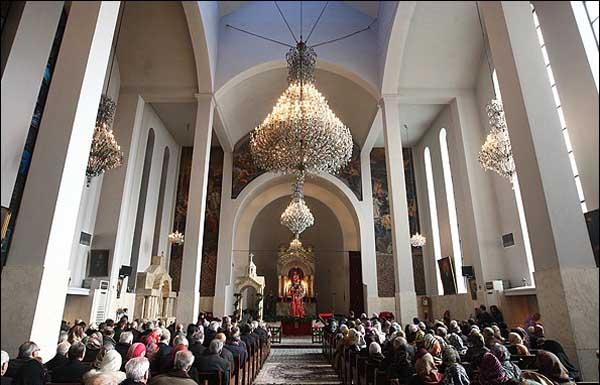 کلیساهای تهران,کلیسای سرکیس,کلیسای سرکیس مقدس
