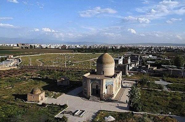 بنای تاریخی,شیخ کلخوران,عکس مقبره شیخ امین الدین جبرائیل