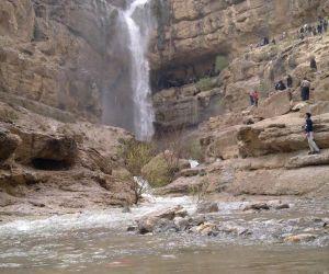 آبشار دره گاهان,آبشار دره گاهان تفت,آبشارهای یزد
