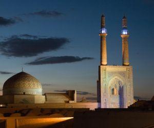 آدرس مسجد جامع کبیر یزد,بنای تاریخی یزد,پلان مسجد جامع یزد