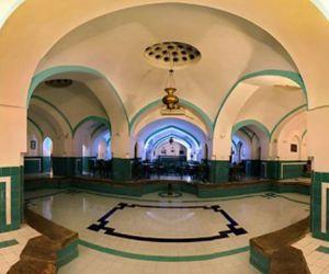 بازارچه کاشیگری,پلان حمام خان یزد,گرمخانه نور