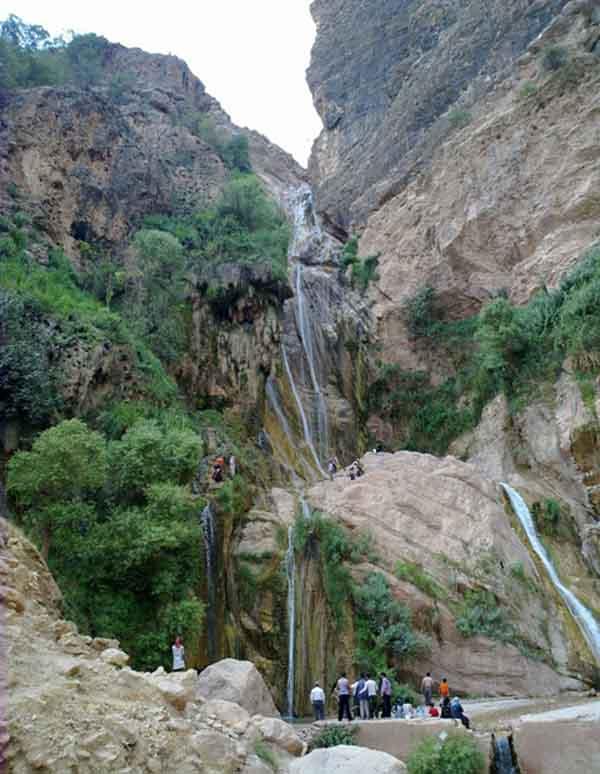 عکس آبشار نوژیان