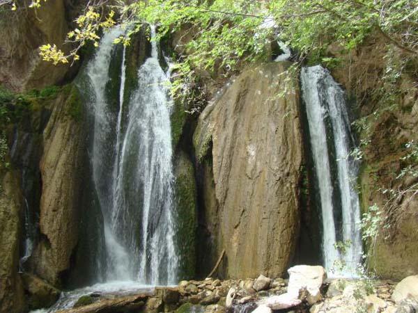 آبشار خرم آباد,آبشار وارک,آبشارهای استان لرستان