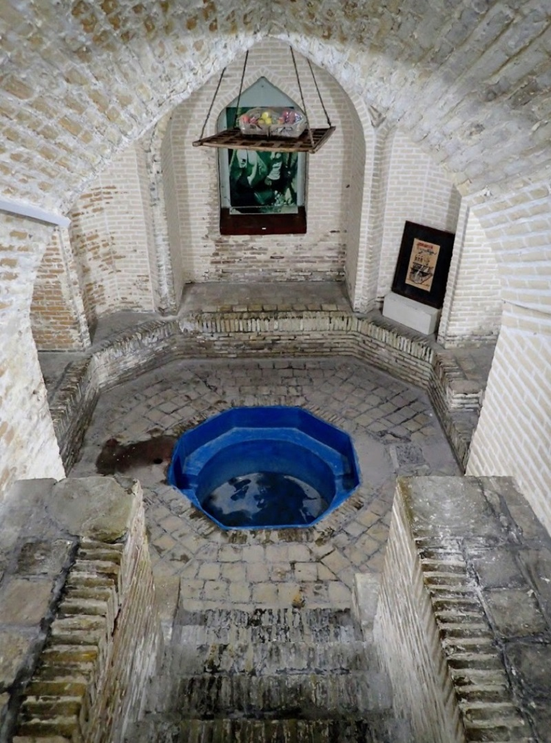 تصاویری از موزه آب یزد,خانه کلاهدوز ها یزد,خانه کلاهدوزها