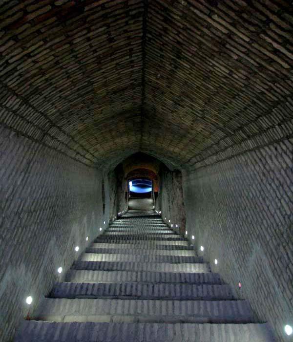 آدرس قنات زارچ یزد,طول قنات زارچ,طولانی ترین قنات ایران