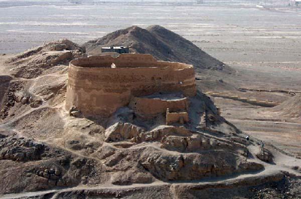 آدرس دخمه زرتشتیان یزد,برج خاموشان یزد,برج سکوت یزد