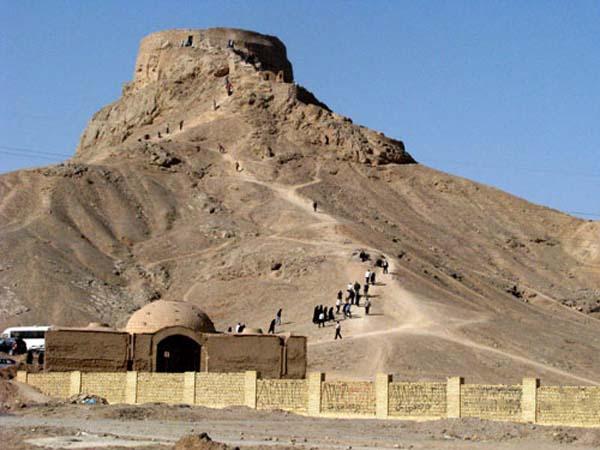 بناهای تاریخی یزد,تاریخ دخمه زرتشتیان یزد,دخمه زرتشتیان
