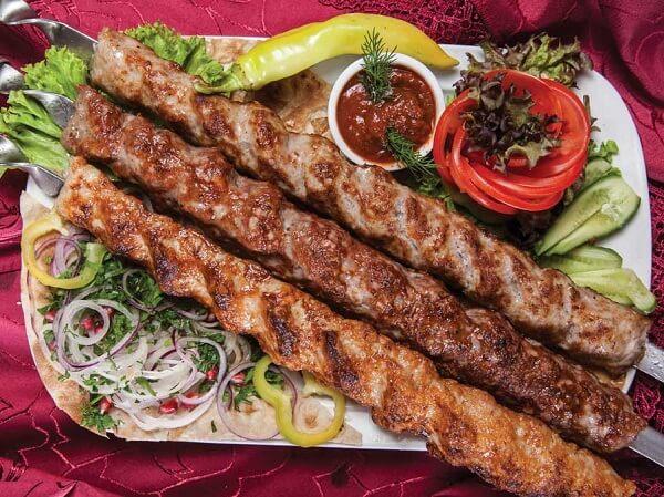 Adana-Kebab-on-Skewers