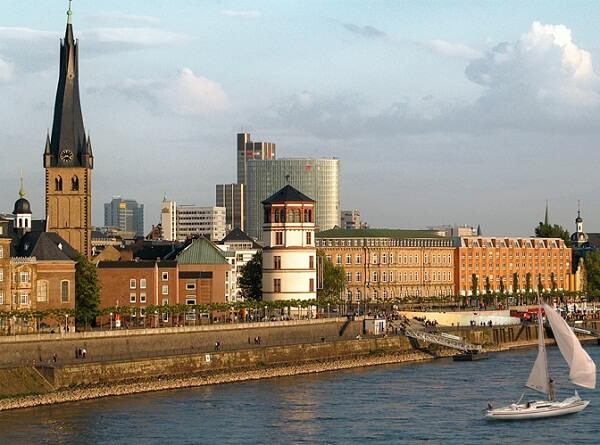 جاذبه هاي دوسلدورف,جاذبه های توریستی دوسلدورف,جاذبه های دوسلدورف