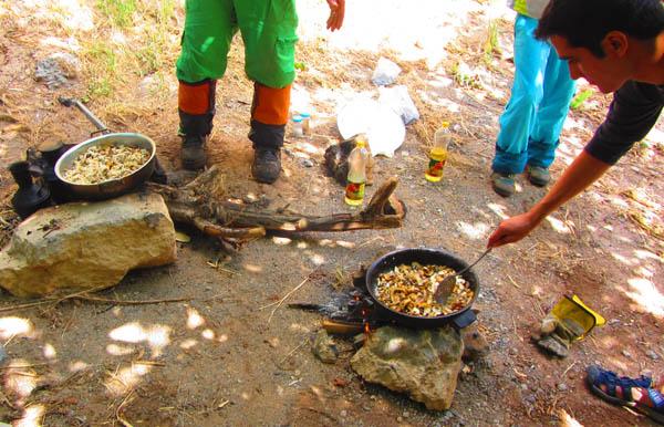آماده سازی ناهار