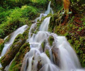 آبشار اوبن,آبشار اوبن مازندران,آبشارهای ایران
