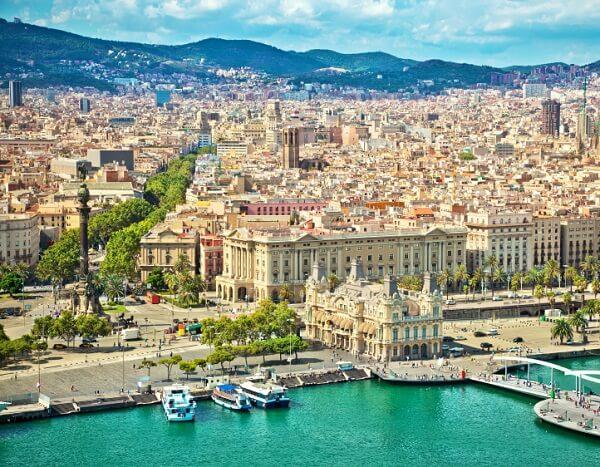 جاذبه های گردشگری بارسلونا,جاهای دیدنی بارسلونا اسپانیا,عکس بارسلونا