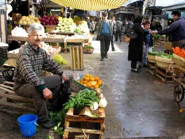 بازار بزرگ رشت,بازار قدیمی رشت,تاریخچه بازار رشت