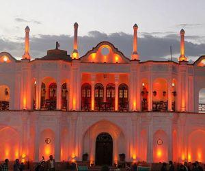باغ تاریخی فتح آباد کرمان,باغ عمارت بیگلر بیگی,باغ عمارت فتح آباد