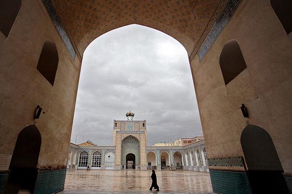 مسجد جامع شهر کرمان,مسجد جامع مظفری,مسجد جامع مظفری کرمان