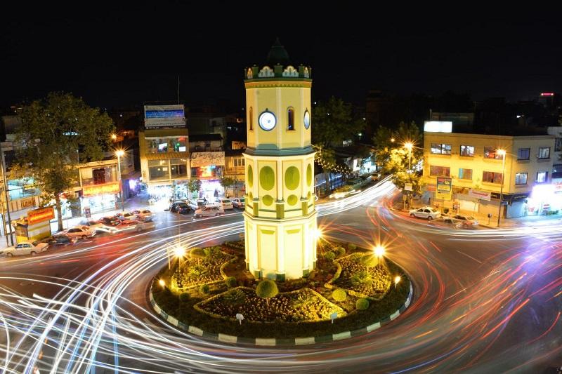 میدان ساعت ساری