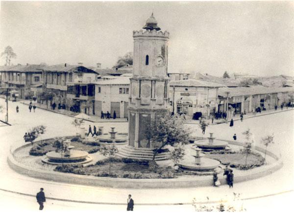 میدان ساعت شهر ساری