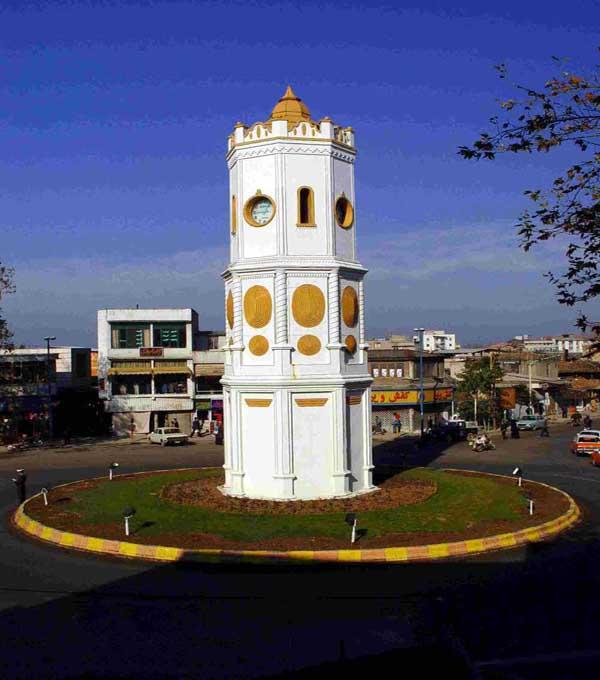 قدمت برج ساعت ساری,میدان ساعت,میدان ساعت ساری