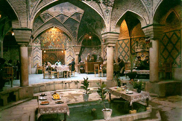 بناهای تاریخی,چایخانه سنتی,چایخانه سنتی کرمان