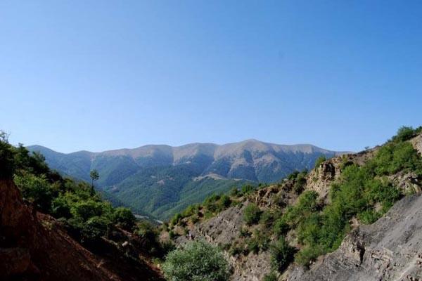 آبشار بندگاه,آبشار بندگاه ساری,روستاهای ساری