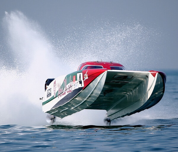 UAE Wooden Powerboat Race