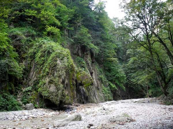 مسیر باران کوه گرگان