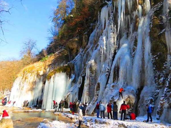 آبشار باران کوه,آبشار باران کوه گرگان,آدرس باران کوه گرگان